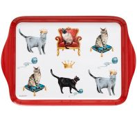 Ashdene Pampered Cats Scatter Serving Tray