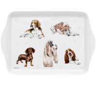 Ashdene Kennel Club Hound Breeds Scatter Serving Tray