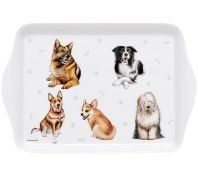 Ashdene Kennel Club Working Breeds Scatter Serving Tray