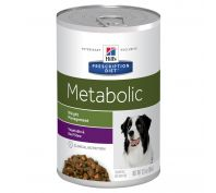 Hill's Prescription Diet Metabolic Cans w/ Beef & Vegetable Stew Canned Dog Food 12x354g
