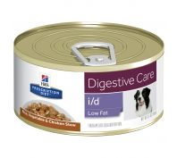 Hill's Prescription Diet i/d Low Fat Digestive Care Chicken & Vegetable Stew Canned Dog Food 24x156g