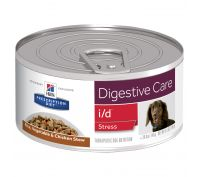 Hill's Prescription Diet i/d Stress Digestive Care Rice, Vegetable & Chicken Stew Canned Dog Food 24x156g