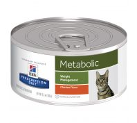 Hill's Prescription Diet Metabolic Weight Management Canned Cat Food 24x156g