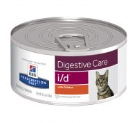 Hill's Prescription Diet i/d Digestive Care Canned Cat Food 24x156g