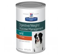 Hill's Prescription Diet w/d  Digestive/Weight/Glucose Management Canned Dog Food 12x370g