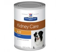 Hill's Prescription Diet k/d Kidney Care with Chicken Canned Dog Food 12x370g