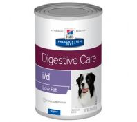 Hill's Prescription Diet i/d Low Fat Digestive Care Canned Dog Food 12x370g