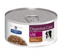 Hill's Prescription Diet i/d Digestive Care Chicken & Vegetable Stew Canned Dog Food 24x156g