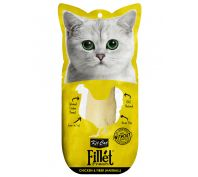 Kit Cat Fillet Fresh Chicken & Fiber Hairball Cat Treat 30g