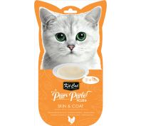 Kit Cat Purr Puree Tuna & Fish Oil Skin & Coat Care Cat Treat 60gm