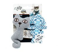 All For Paws Vintage Best Friends Cat Toy
