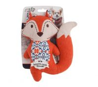 All For Paws Vintage Mini Cutie Fox Dog Toy