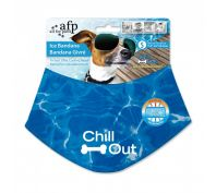 All For Paws Chill Out Cooling Bandana for Dogs