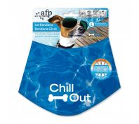 All For Paws Chill Out Cooling Bandana for Dogs Large