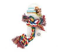 Pawise Dog Toy Rope Bone 17.7cm