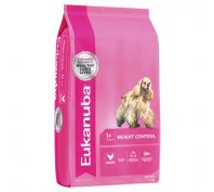 Eukanuba Adult Medium Breed Weight Control Dog Food 15kg