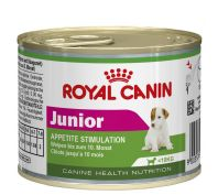 Royal Canin Canine Mini Junior Wet Dog Food 12x195g