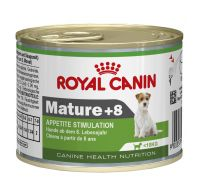 Royal Canin Canine Mini Mature +8 Wet Dog Food 12x195g