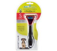 Furminator Short Hair Small Dog Deshedding Brush Metallic