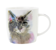Splosh Art of Cats Grey Cat Ceramic Mug