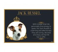 Splosh Jack Russell Fine Dining Pet Placemat