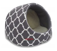 Snooza Igloo Woolly Lattice Cat Bed Large