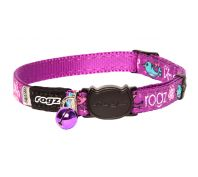 Rogz Fancycat 11mm Safeloc Collar Lovebirds