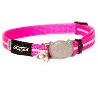 Rogz Alleycat 8mm Kitten Safeloc Collar Pink