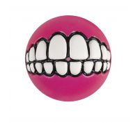 Rogz 64mm Grinz Ball Med Pink