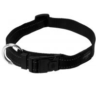 Rogz Utility Lumberjack Extra Large Dog Collar Black