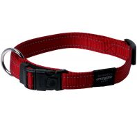 Rogz Utility Lumberjack Extra Large Dog Collar Red
