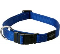 Rogz Utility Fanbelt Large Dog Collar Blue