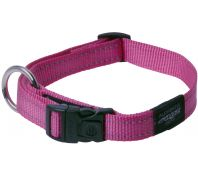 Rogz Utility Fanbelt Large Dog Collar Pink