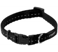 Rogz Utility Nitelife Small Dog Collar Black