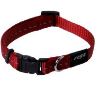 Rogz Utility Nitelife Small Dog Collar Red