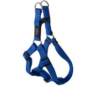 Rogz Utility Fanbelt Large Step-In Dog Harness Blue