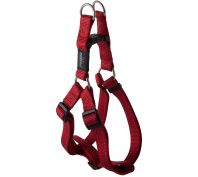 Rogz Utility Fanbelt Large Step-In Dog Harness Red