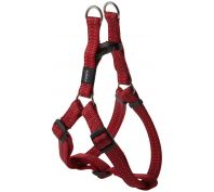Rogz Utility Snake Medium Step-In Dog Harness Red