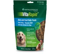 Vetalogica Vitarapid Skin & Coat Dog Treat 210g