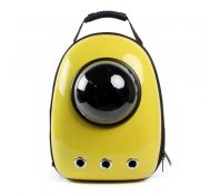 Astro Pet Space Capsule 1st Generation Pet Backpack Yellow