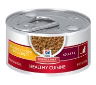 Hills Science Diet Cat Adult Healthy Cuisine Chicken & Rice Medley 79G x 24