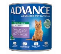 Advance All Breed Adult Dog 12x700g Turkey & Rice