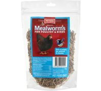 Peters Dried Mealworms For Poultry & Birds 100g