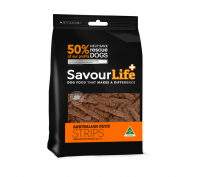 Savourlife Australian 150g Duck Strips Dog Treats