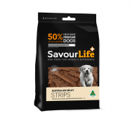 Savourlife Australian 150g Milky Strips Dog Treats