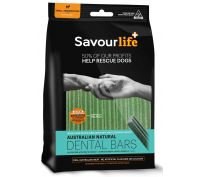 Savourlife Australian Natural Dental Bars Small/Medium 8 Bars Dog Treats