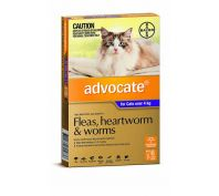 Advocate Cat Bayer 4kg Plus Large Purple