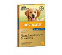 Advocate Dog Bayer Over 25kg Extra Large Blue