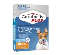 Comfortis Plus Orange Dog Flea, Heart Worm & Worming 4.6-9kg