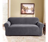Sure Fit Stretch Pearson 2 Seater Sofa Cover Slate